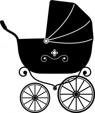 Baby Stroller (Silhouette)