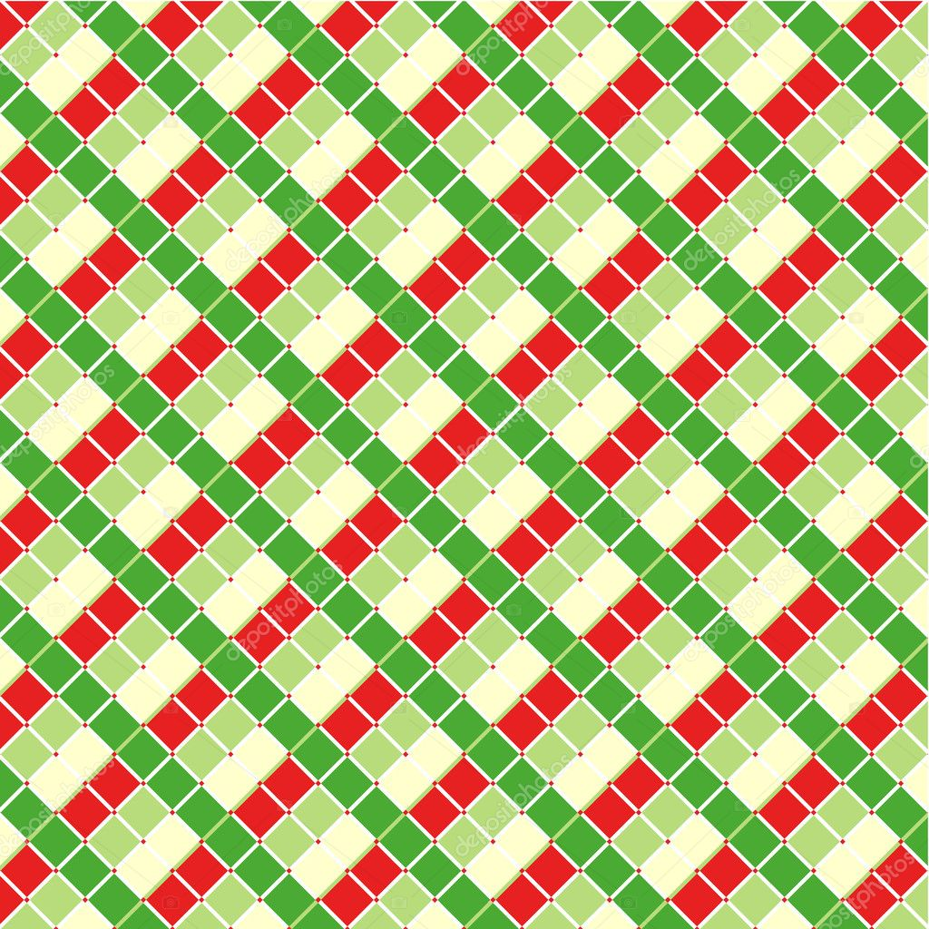 Pics photos merry christmas argyle twitter backgrounds - Checked Christmas Background Seamless Pattern Included Stock Vector 10395372