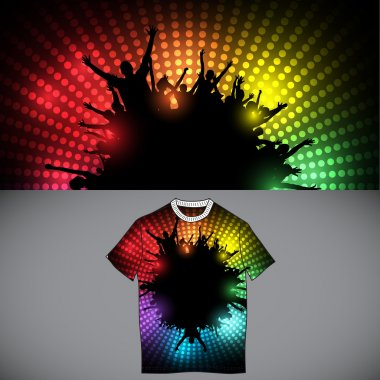 Party T-shirt template