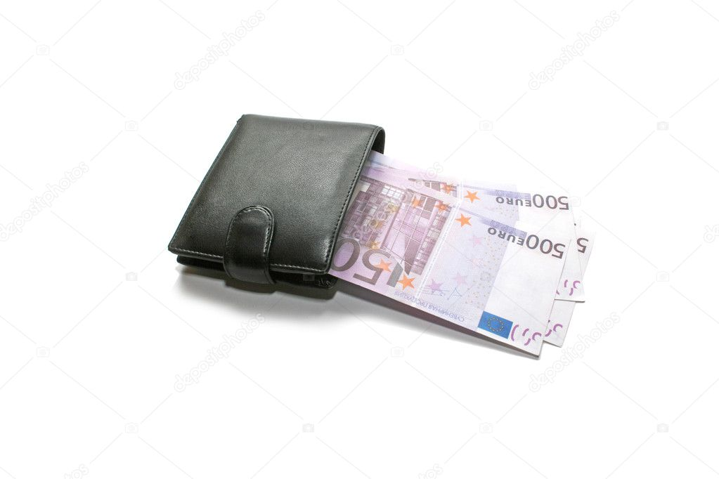Portemonnee 5 Euro.Euro In Uw Portemonnee Stockfoto C Natalia2484 8511840