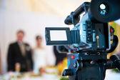 professzionális videokamera