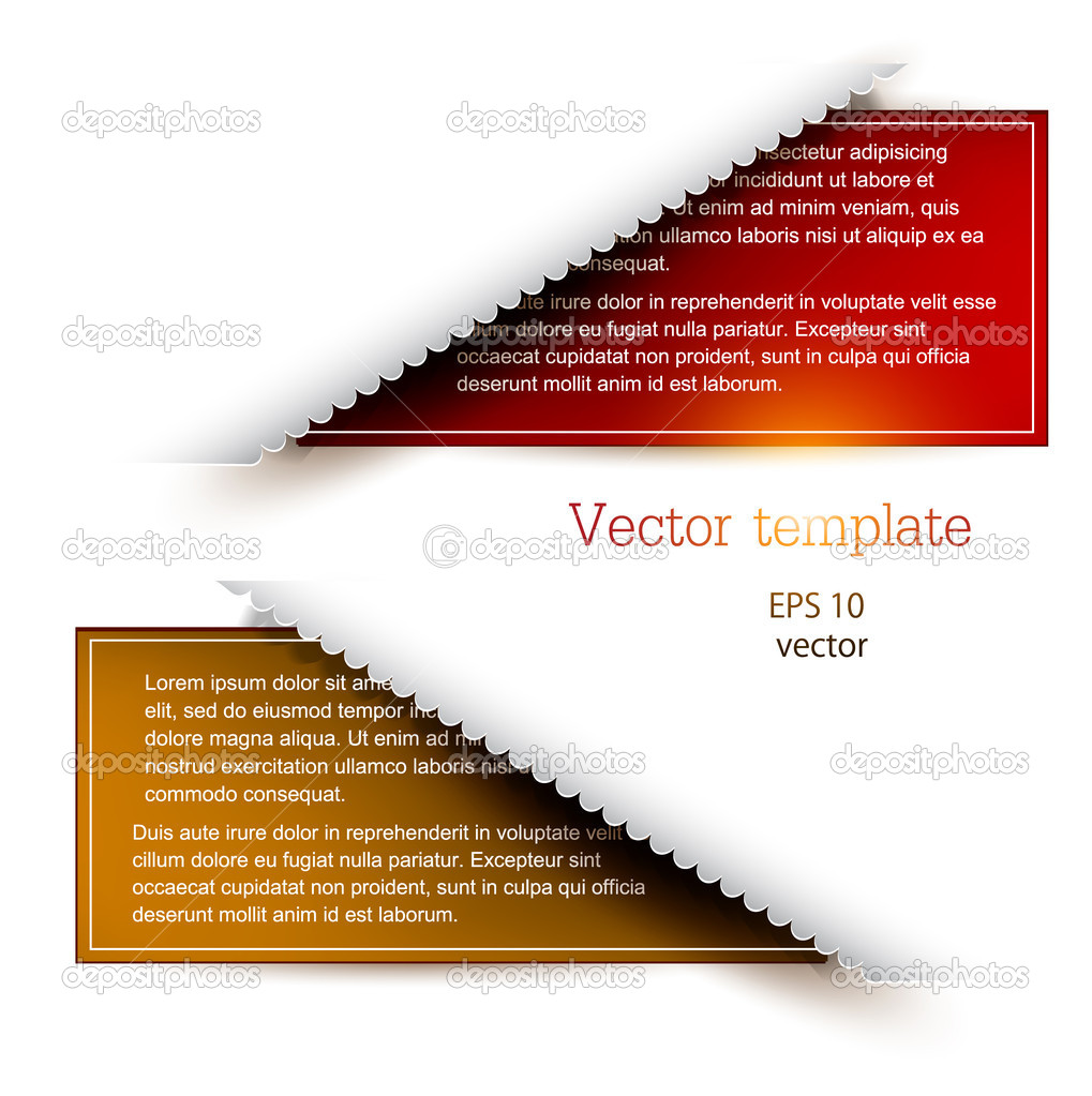 bunte Lesezeichen für text — Stockvektor © boroboro #10629246