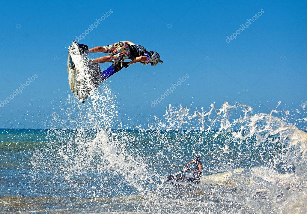Extreme sports - jet ski