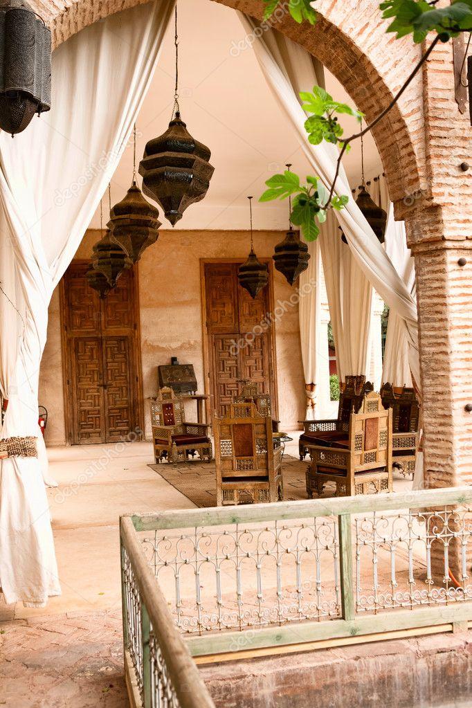 Arabische Rustikale Terrasse Stockfoto C Luckybusiness 10304459