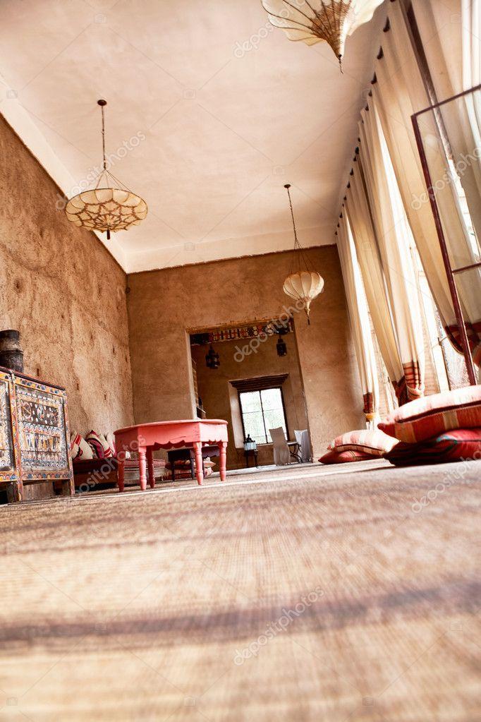 Authentic Arabian living room
