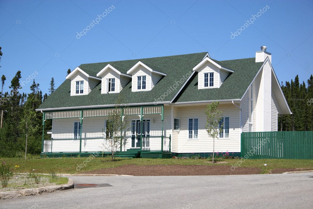 Modern Home in Rural Area