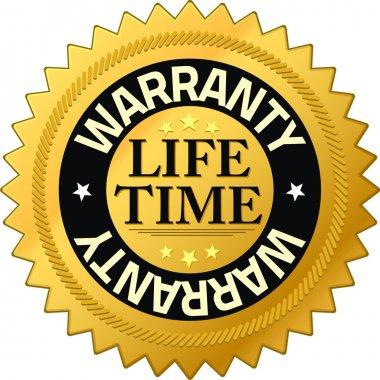 Warranty lifetime Quality Guarantee Badges