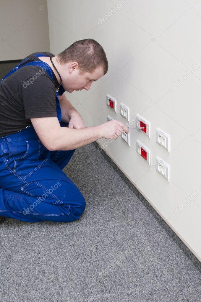 Electrical repairs electrical socket