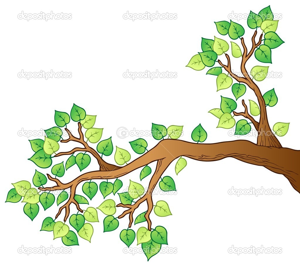 Tree Branch Cartoon Cartoon Tree Branch With Leaves 1 Stock Vector C Clairev 8444724 Empty nature beach ocean coastal landscape vector. tree branch cartoon cartoon tree branch with leaves 1 stock vector c clairev 8444724