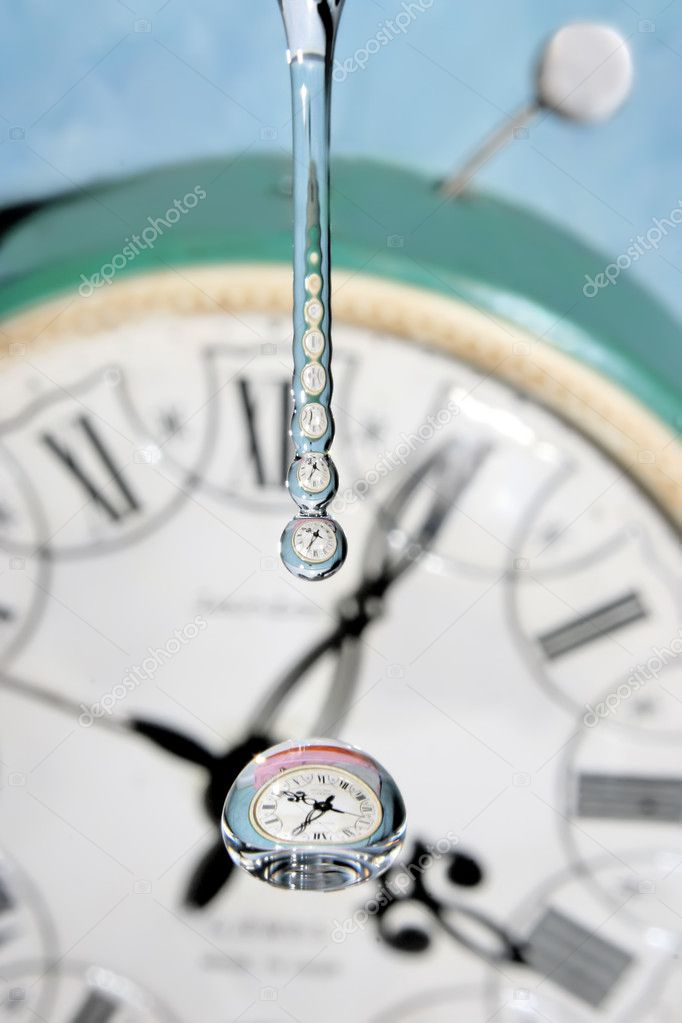 Drop of time