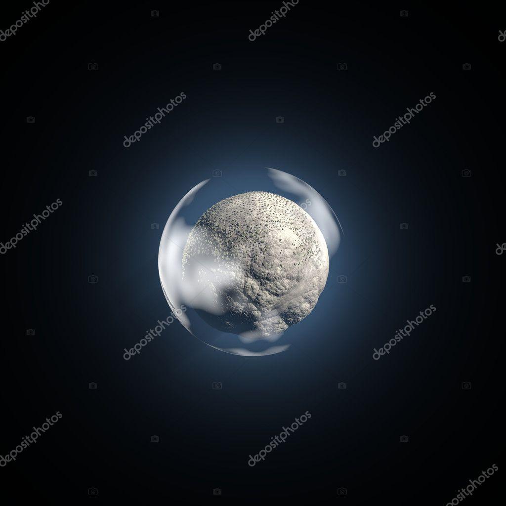 Small Barren Planet Stock Photo Humbak 8879495
