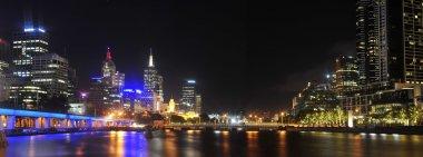 Melbourne city by night - Victoria - Australia