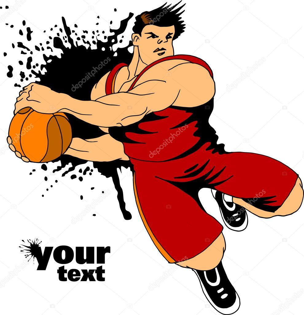 Icon of basketball