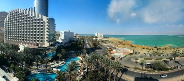 Hotels on Dead Sea coast, Israel