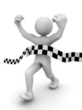 Abstract sprint winner