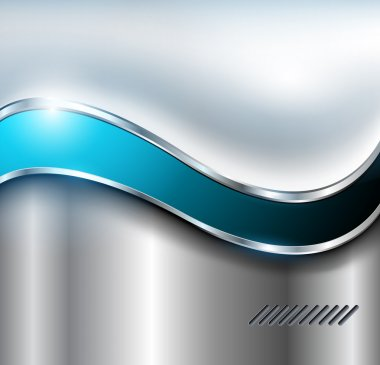 Abstract silver background