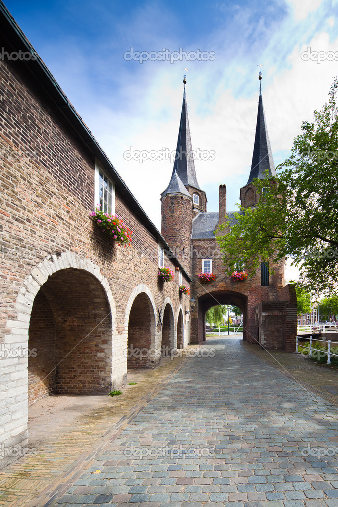 Фотообои East Gate in Delft - Holland