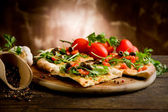 vegetariánský pizza