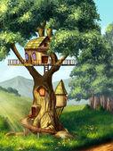 Fotografia casa sullalbero