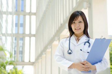 Asian medical student