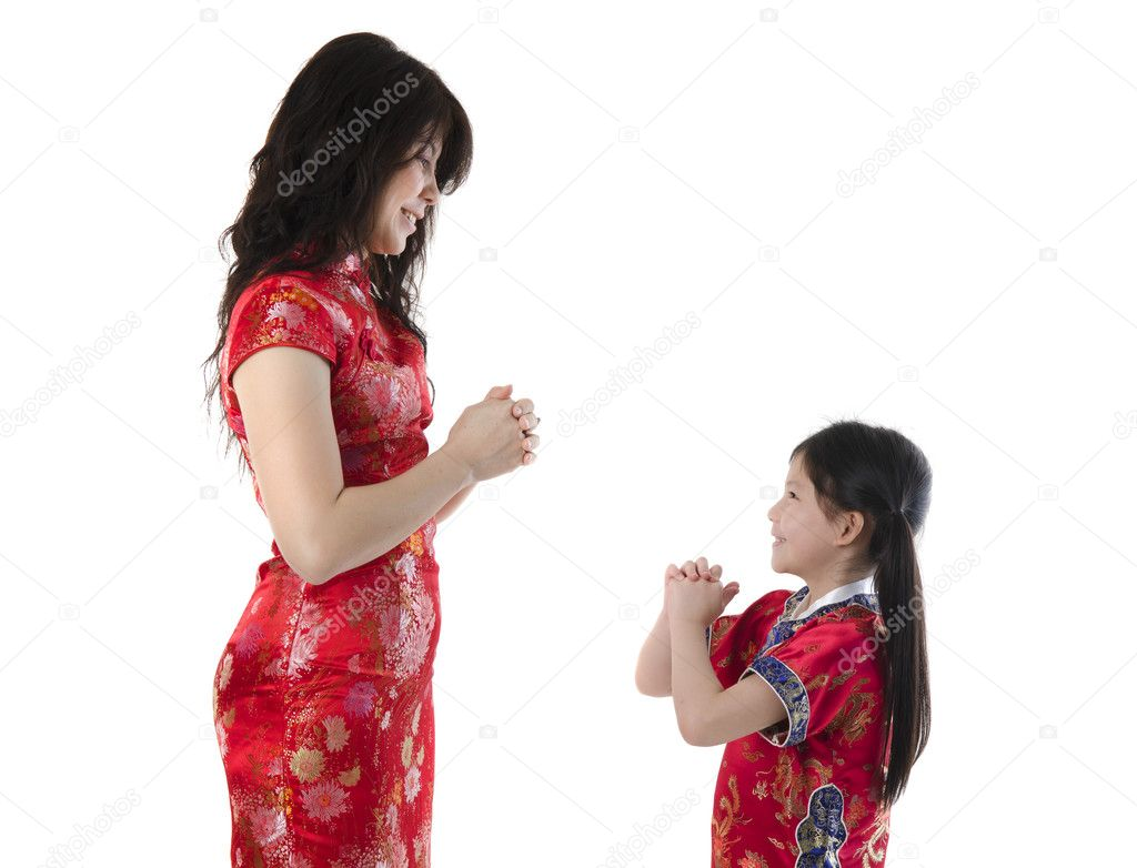 Chinesisches Neujahr-Begrüßung — Stockfoto © yuliang11 #8471639