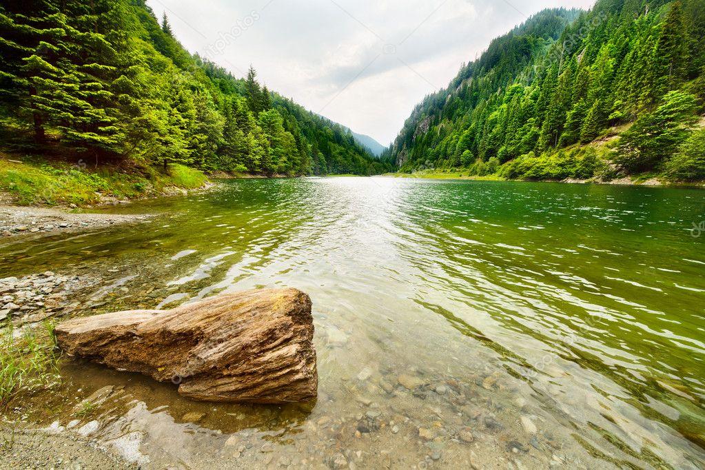 Petrimanu Lake in Romania