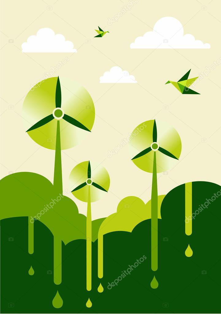 Go Green wind-turbine park