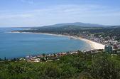 Fotografia vista panoramica della località balneare in uruguay