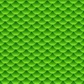 Seamless small green fish scale pattern
