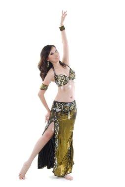 Sexy belly dancer