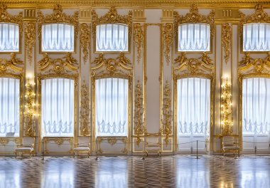 The windows of the hall of gold