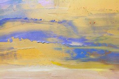 Beige oil paintings