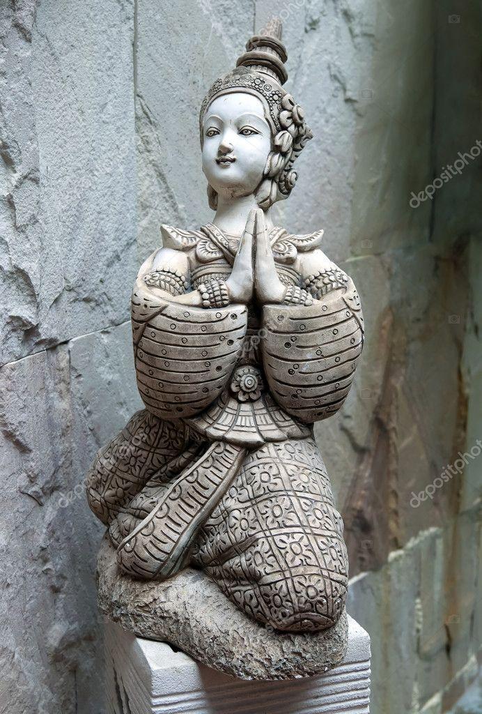 Asian statue