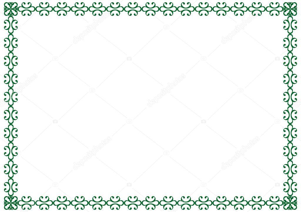 marco de diploma — Archivo Imágenes Vectoriales © justaa #10281846
