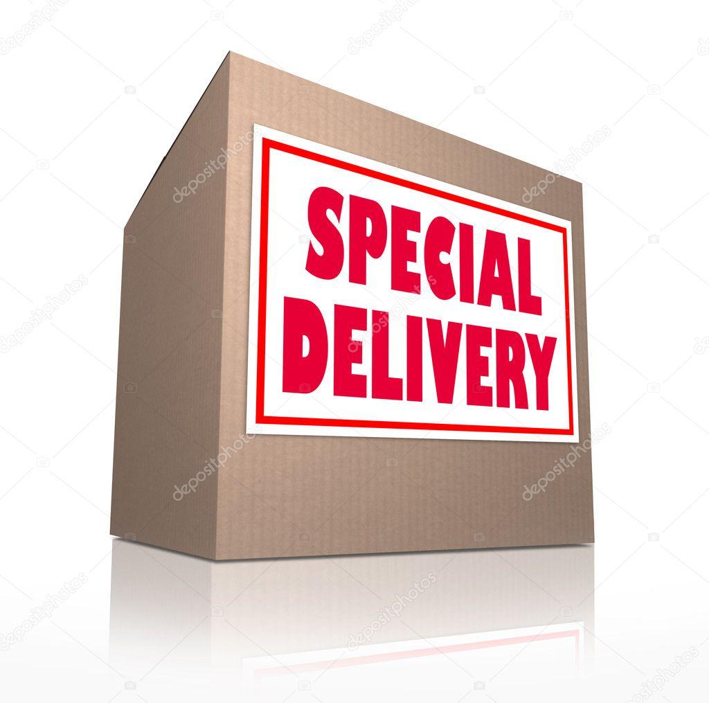 livraison sp ciale d 39 exp dition carton envoy par la poste photographie iqoncept 10478727. Black Bedroom Furniture Sets. Home Design Ideas