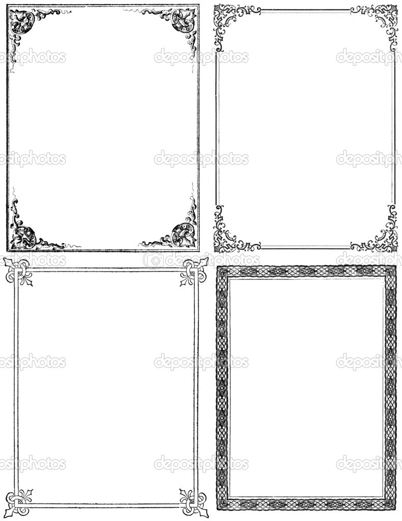 Four Vintage Frames
