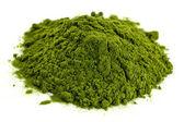 Bio Weizen Gras Pulver gefriergetrocknet