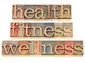 zdraví, fitness, wellness
