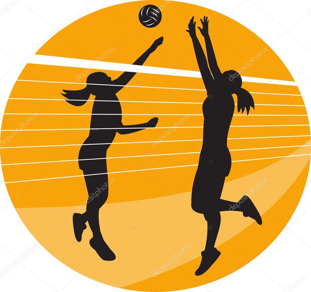 Bloqueo en el voleibol