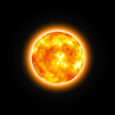 Red Star Shiny Sun
