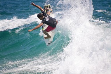 The world best surfers