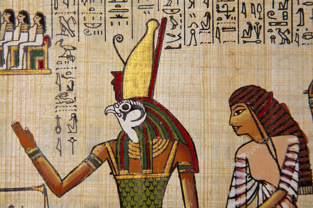 египетской обозначение картинки папируса