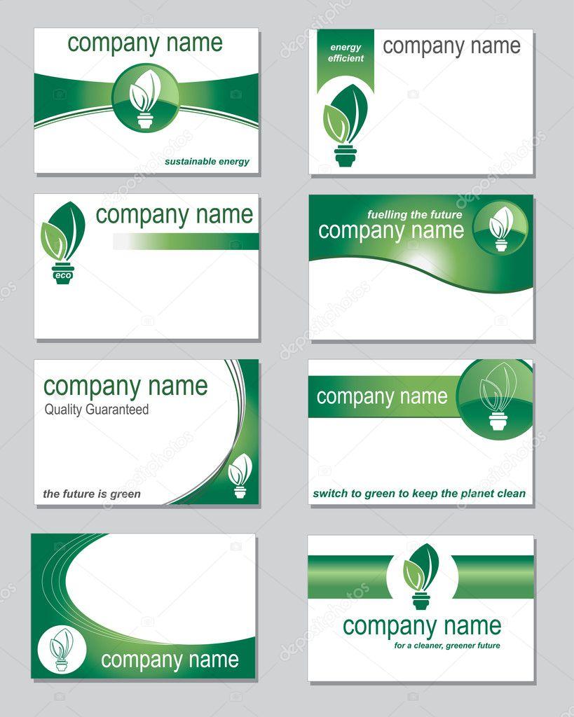Environmental business cards stock vector janefromyork 8650989 environmental business cards stock vector colourmoves