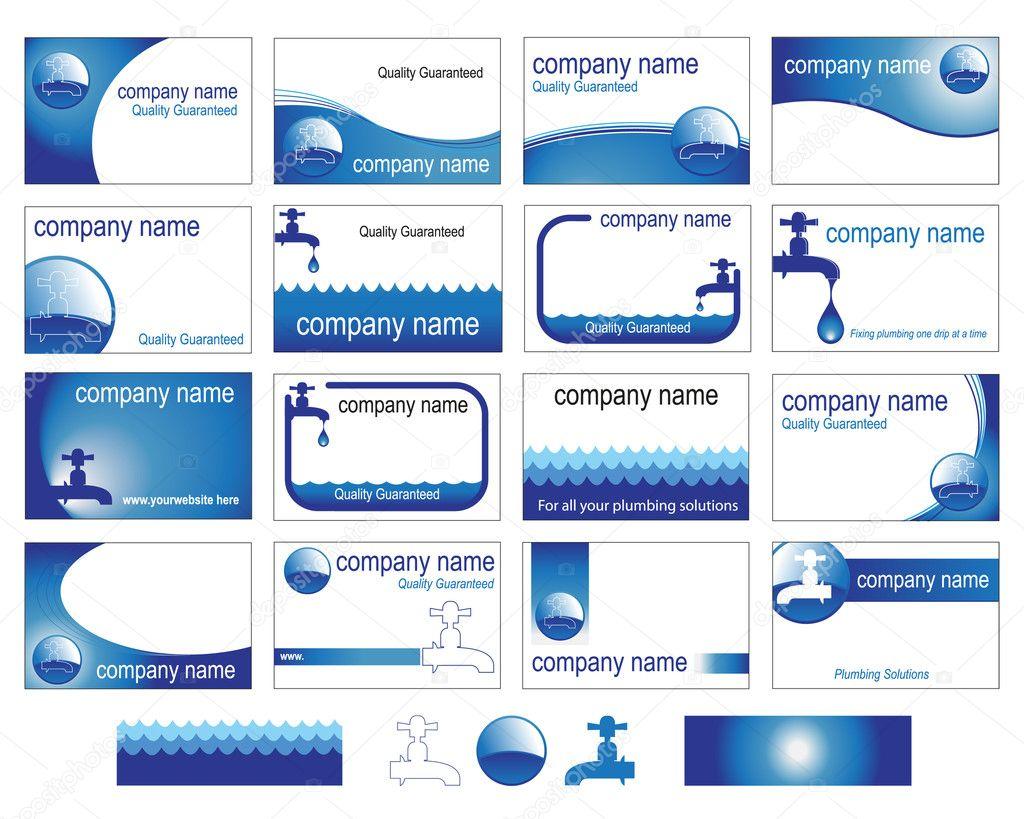 Sanitärhandel  für den Sanitär-Handel — Stockvektor #9375574