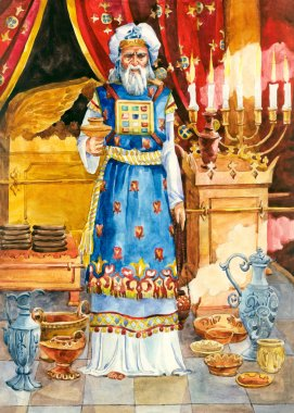 Ancient Israel. High priest