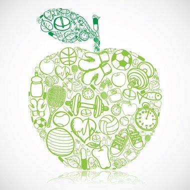Fitness apple