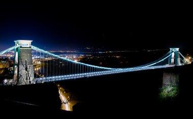 World famous Clifton Suspension Bridge.
