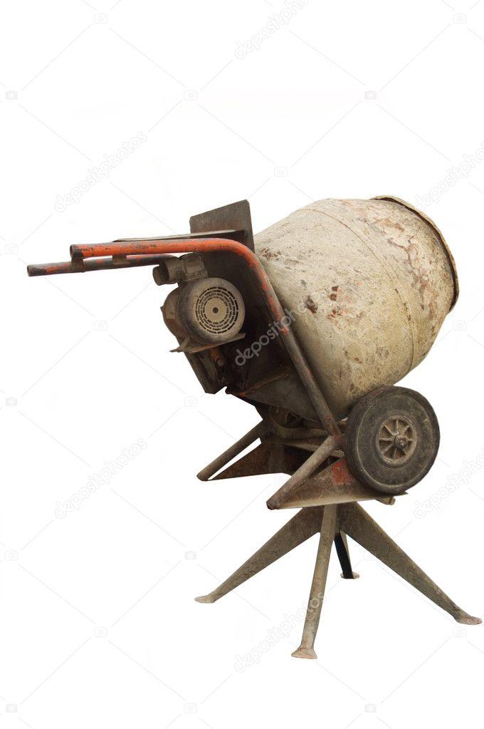 Vintage cement mixer