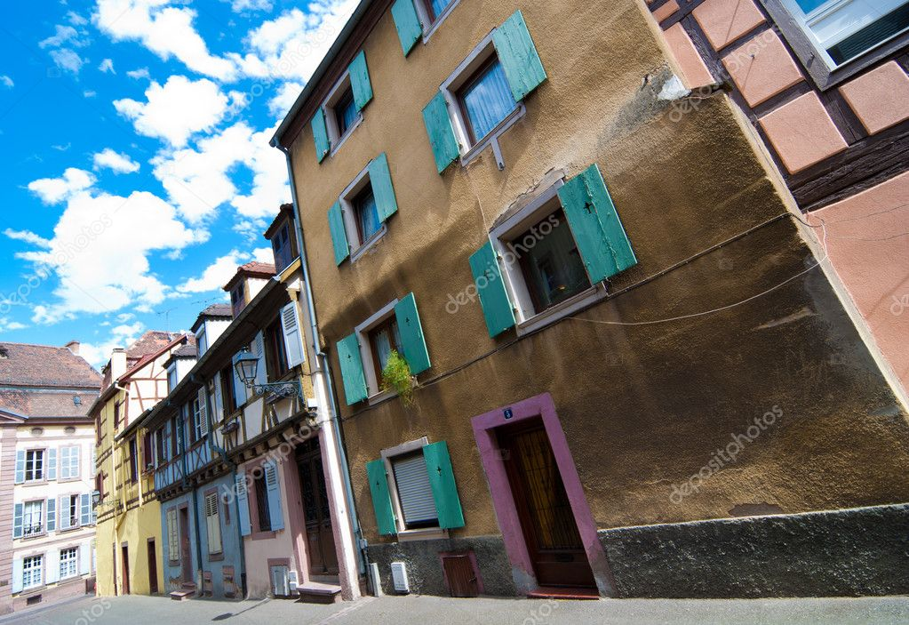 centre ville de colmar alsace france photographie. Black Bedroom Furniture Sets. Home Design Ideas