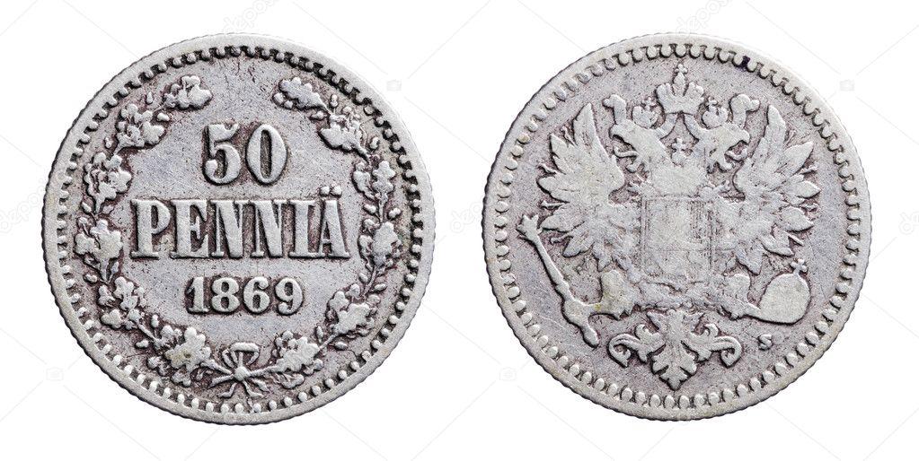 Alte Finnische Geld Stockfoto Stocksnapper 8738617